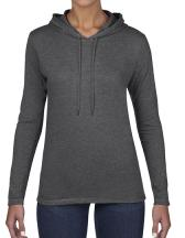 Women`s Lightweight Long Sleeve Hooded Tee