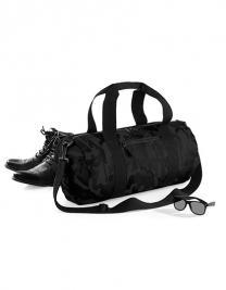 Camo Barrel Bag